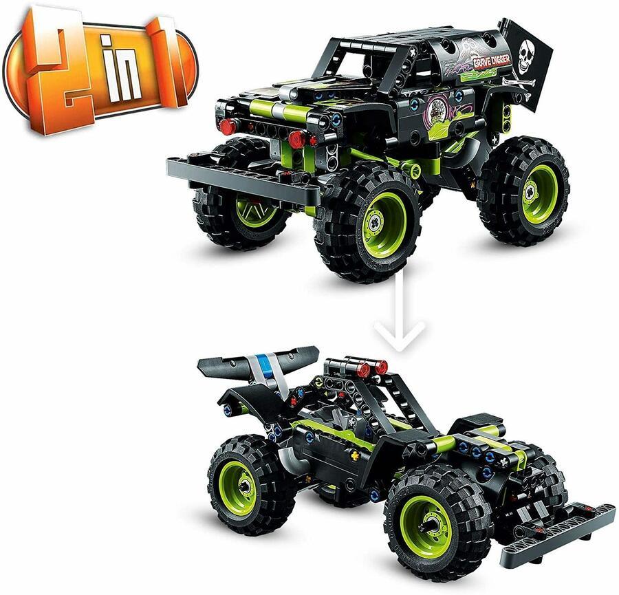 Monster Jam Grave Digger - Lego Technic 42118 - 7+