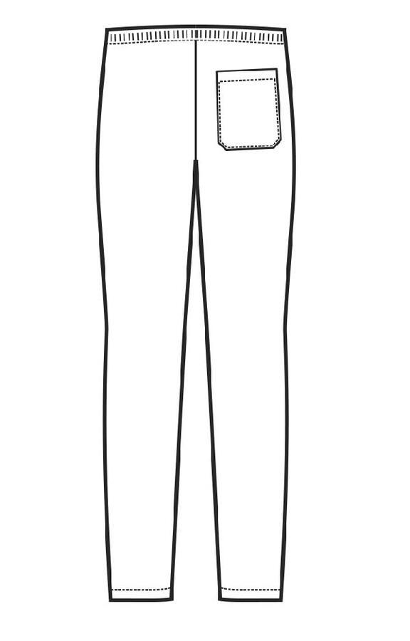 Pantalone unisex in Lino