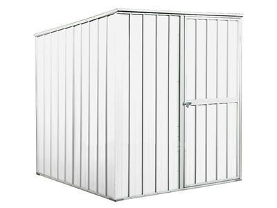 BOX IN ACCIAIO / CAPANNO PER ATTREZZI CM 175 X 185 X 192 H - COLORE BIANCO