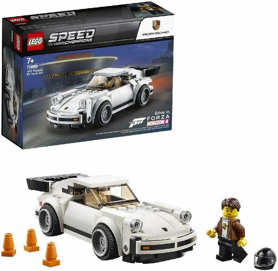 1974 Porsche 911 Turbo 3.0 - Lego Speed Champions 75895 - 7+ anni