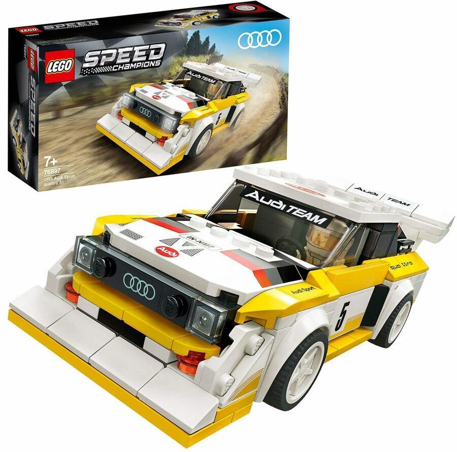 1985 Audi Sport quattro S1 - Lego Speed Champions 76897 - 7+ anni
