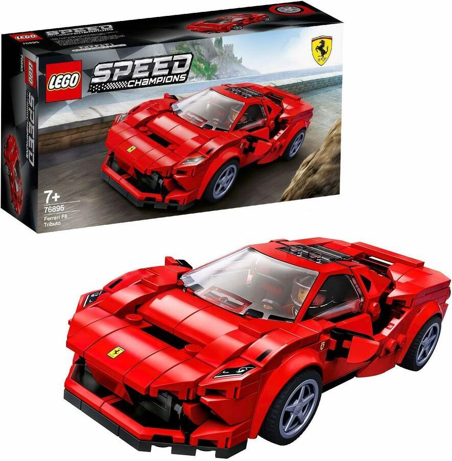 Ferrari F8 Tributo - Lego Speed Champions 76895 - 7+ anni