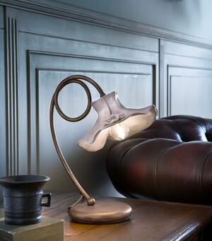 Lampada da Tavolo Lecco C1292 in Ceramica di Ferroluce, Varie Finiture - Offerta di Mondo Luce 24