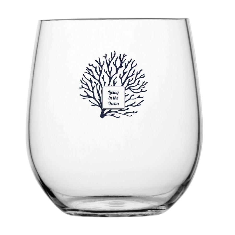 Bicchiere Acqua Antiscivolo 6 Pezzi Serie LIVING di Marine Business - Offerta di Mondo Nautica 24