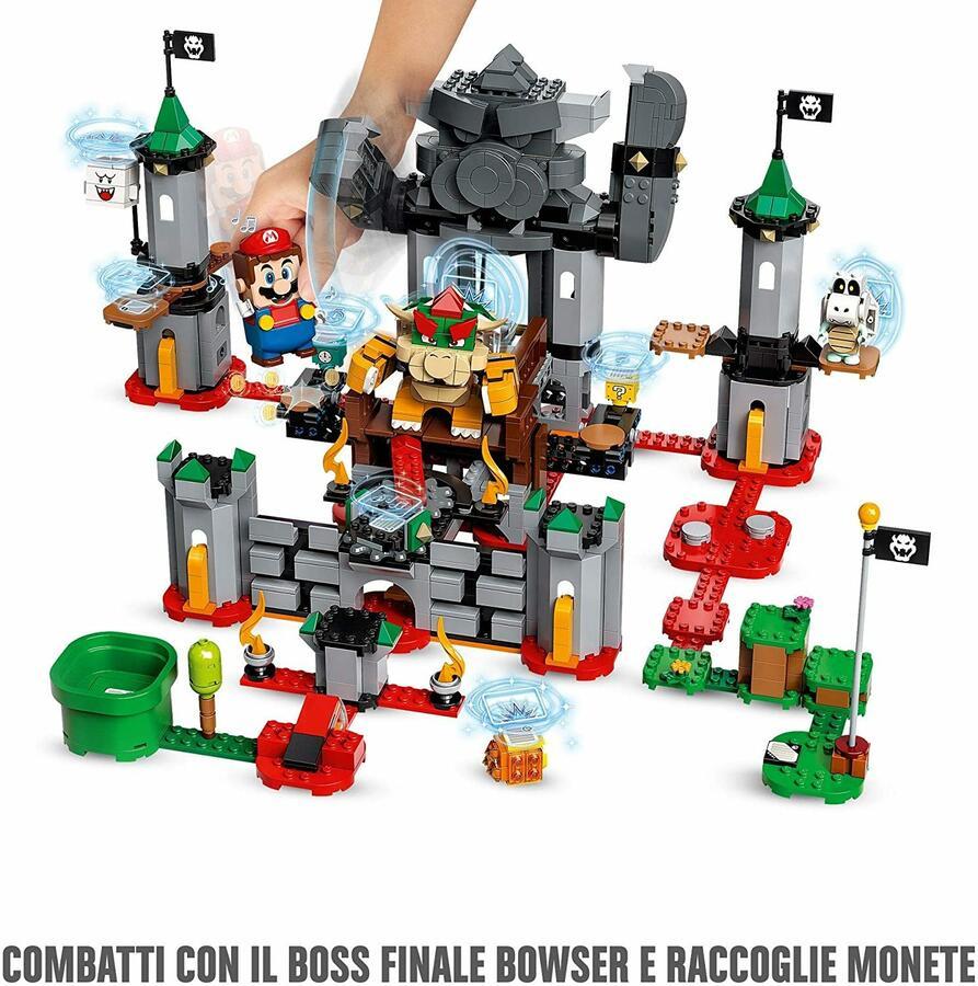 Battaglia Finale al Castello di Bowser - Lego Super Mario 71369 - 8+ anni