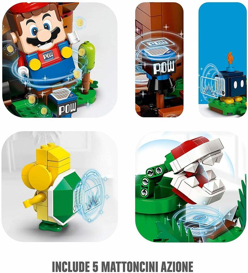 Fortezza sorvegliata - Lego Super Mario 71362 - 8+ anni