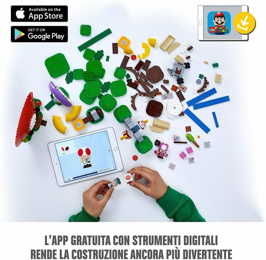 Caccia al tesoro di Toad - Lego Super Mario 71368 - 8+ anni