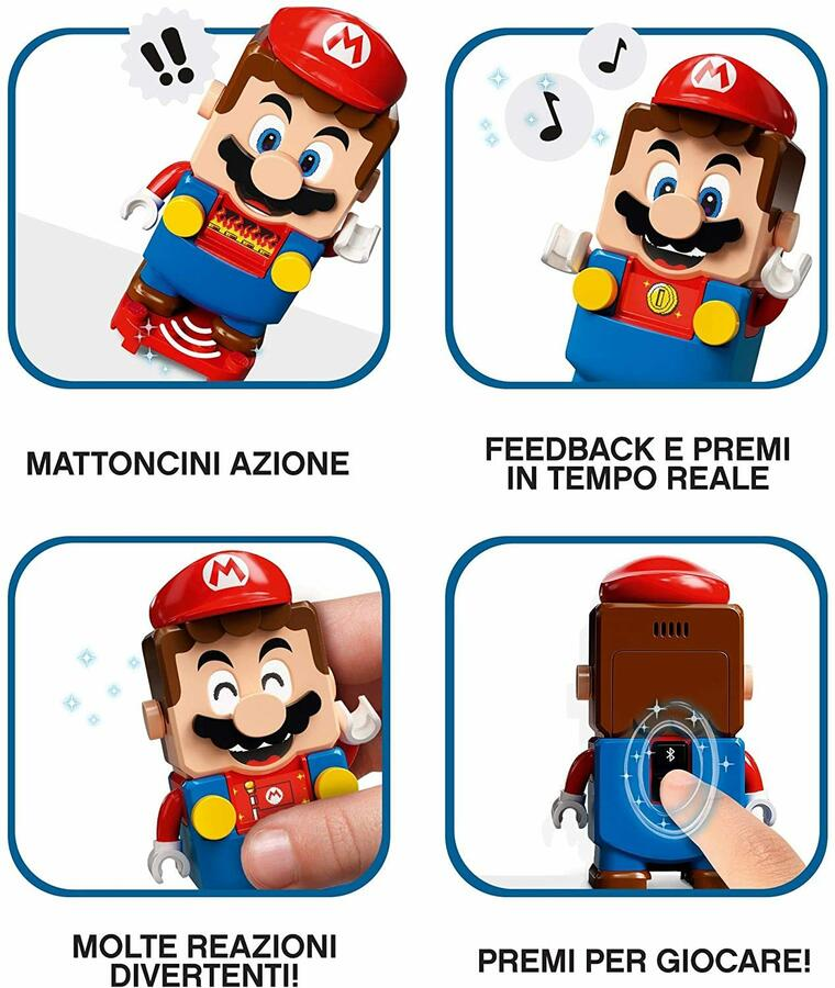 Le avventure di Super Mario Starter Pack - Lego 71360 - 6+ anni