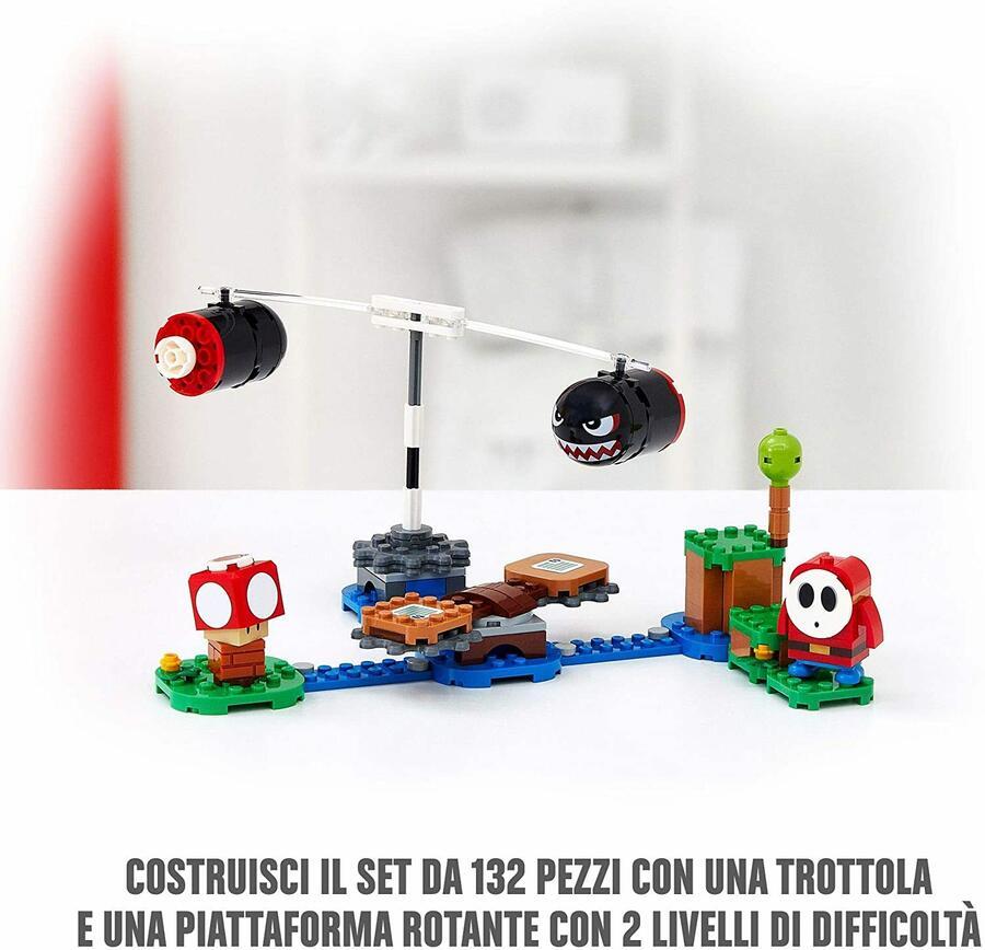 Sbarramento di Pallottoloni Bill - Lego Super Mario 71366 - 7+ anni