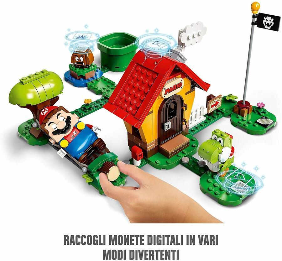 Casa di Mario e Yoshi - Lego Super Mario 71367 - 6+ anni