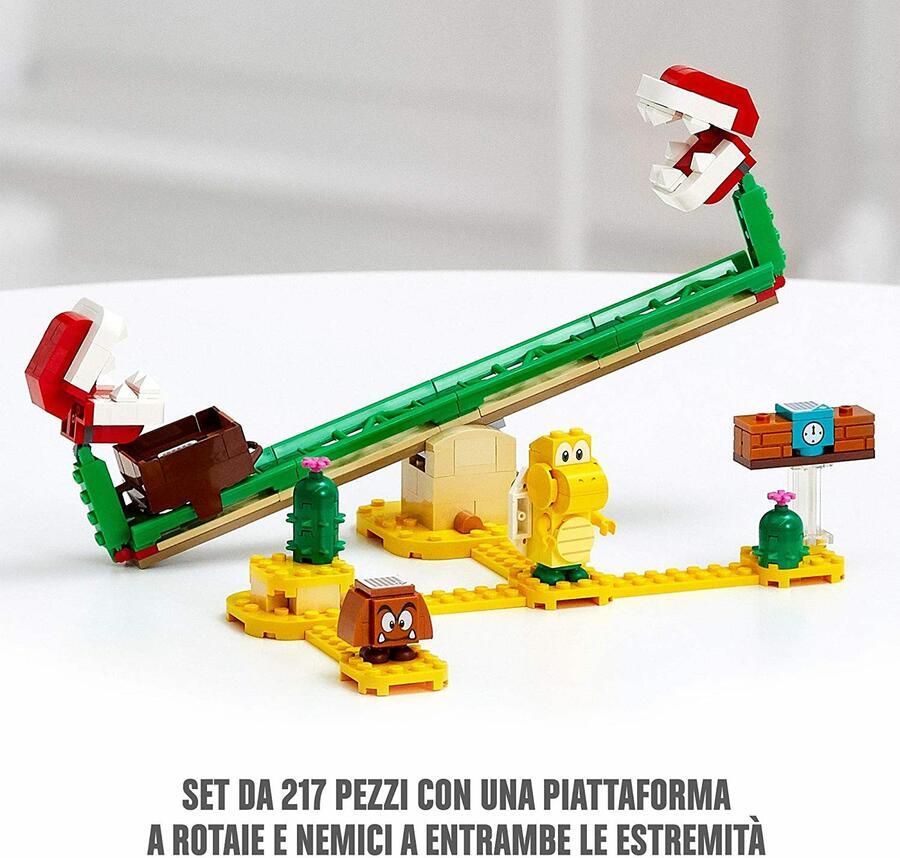Scivolo della Pianta Piranha - Lego Super Mario 71365 - 7+ anni