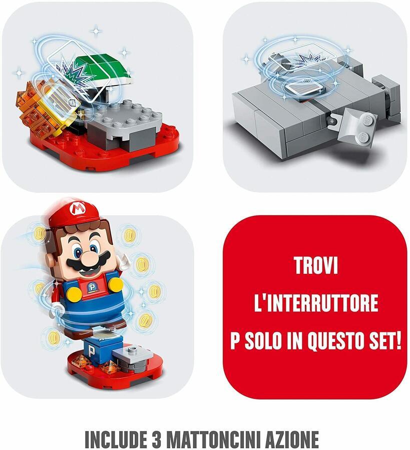 Guai con la Lava di Womp - Lego Super Mario 71364 - 6+ anni