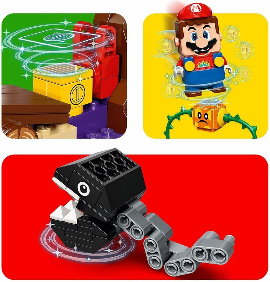 Incontro nella giungla di Categnaccio - Lego Super Mario 71381 - 7+ anni