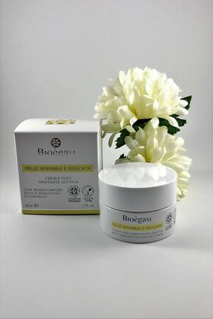 Bioègasi Crema Viso Idratante Lenitiva 50ml