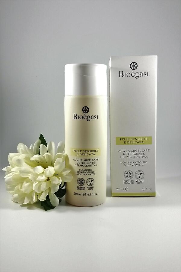 Bioègasi Acqua Micellare Detergente Dermolenitiva 200ml