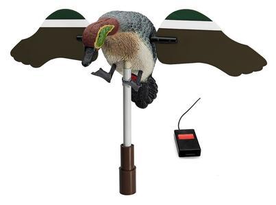 Alzavola maschio ad ali girevoli con telecomando