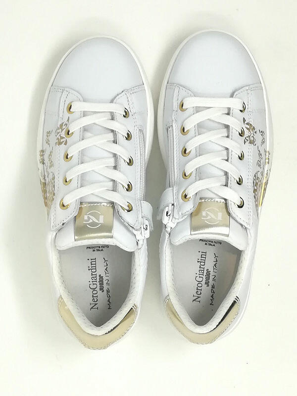 Sneaker Cuore/Farfalle - NERO GIARDINI Kids & Teens