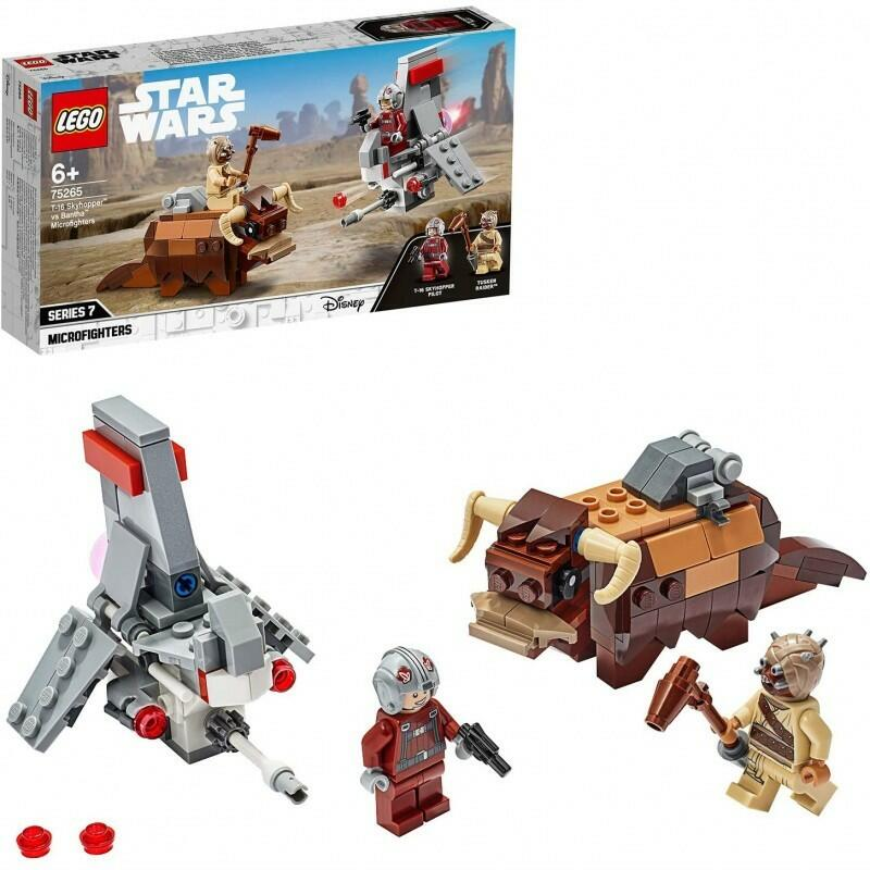 T-16 Skyhopper vs Bantha Microfighters - Lego Star Wars 75265 - 6+ anni