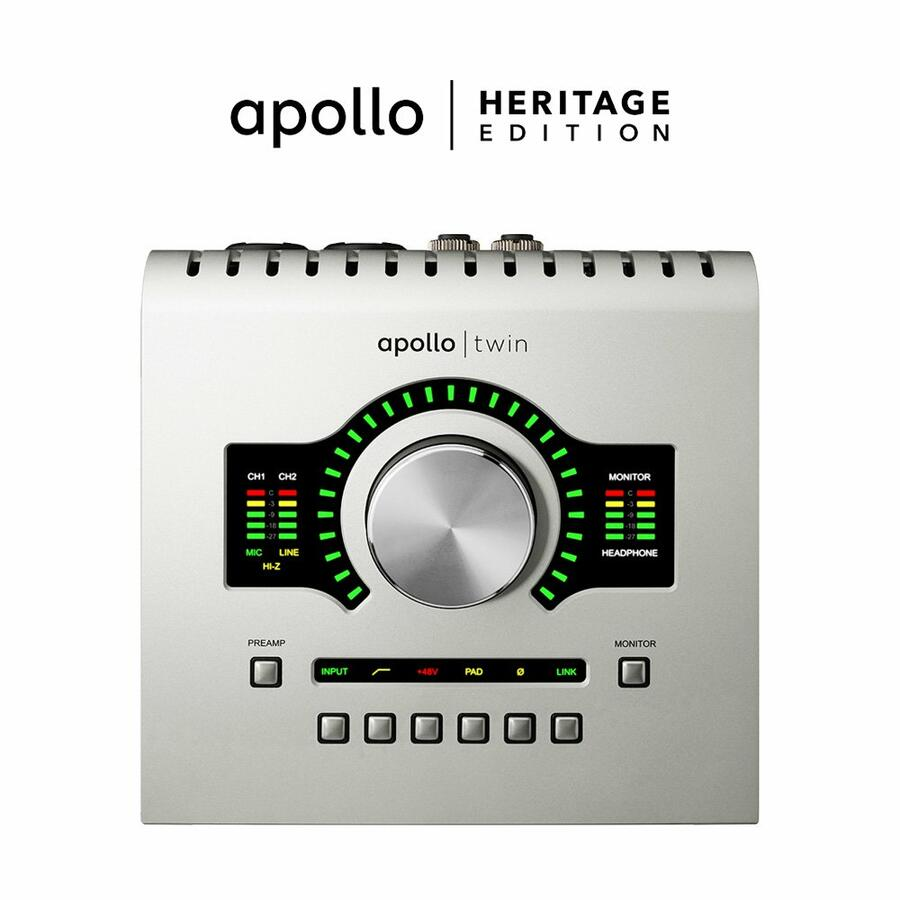 Universal Audio Apollo Twin USB Duo - Heritage Edition