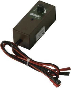 Variatore di velocità per alimentazione 6 o 12 volt., adatto per motori con assorbimento massimo 10 ah.