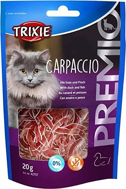 Trixie Carpaccio 20g Snack Per Gatti Con Anatra e Pesce