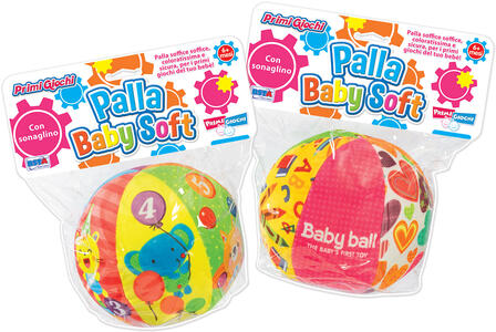PALLA BABY SOFT 15 CM RONCHI SUPERTOYS
