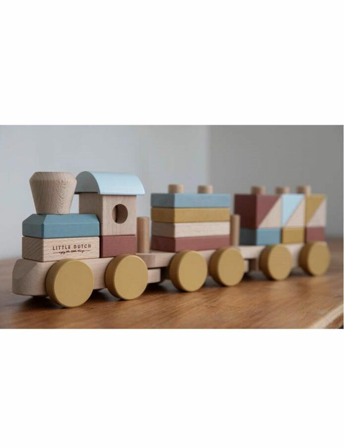 Trenino impilabile legno Pure&Nature