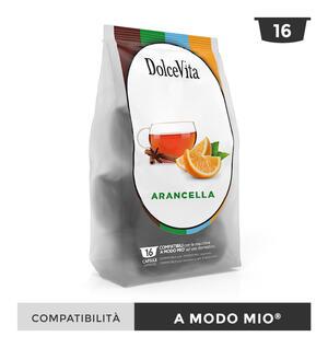 """48 CAPSULE DOLCE VITA """"ARANCELLA RELAX"""" COMPATIBILI DOLCE GUSTO"""