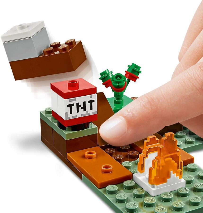 Avventura nella Taiga - Lego Minecraft 21162 - 7+ anni