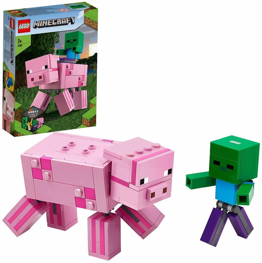 Maiale e Baby Zombi - Lego Minecraft 21157