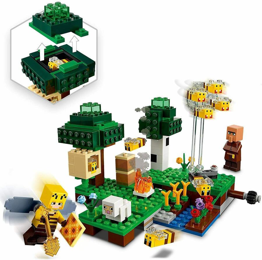 La fattoria delle Api - Lego Minecraft 21165 - 8+ anni