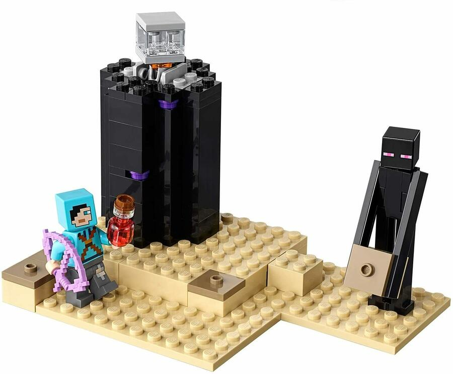 La Battaglia dell'End - Lego Minecraft 21151 - 7+ anni