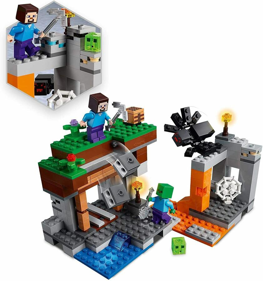 La Miniera Abbandonata - Leo Minecraft 21166 - 7+ anni