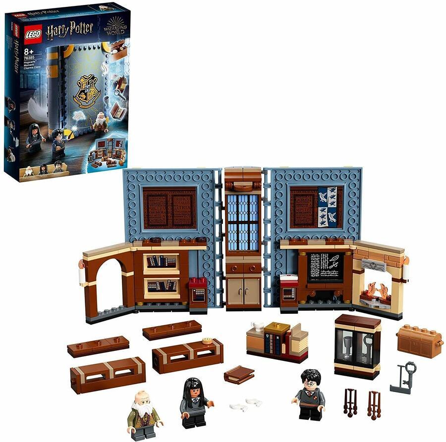 Lezione di Incantesimi a Hogwarts - Lego Harry Potter 76385 - 8+ anni