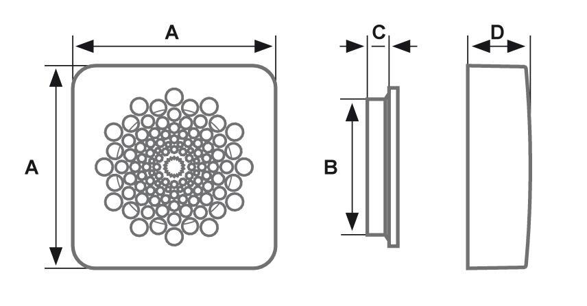 AP3100 ASPIRANTE ASPIRATORE ELICOIDALE FANTINI COSMI ASPIRA