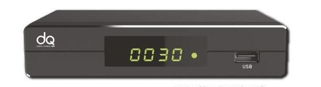 DIGIQUEST  DECODER DQ9 DVB-T2 TIMER USB PLAY