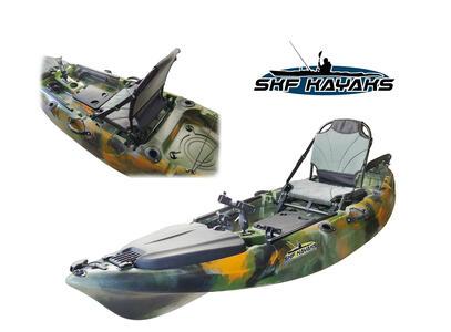 SKF Lake - Kayak da pesca - 293 cm - completo accessori