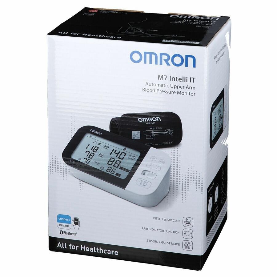 OMRON M7 Intelli IT - Misuratore di pressione