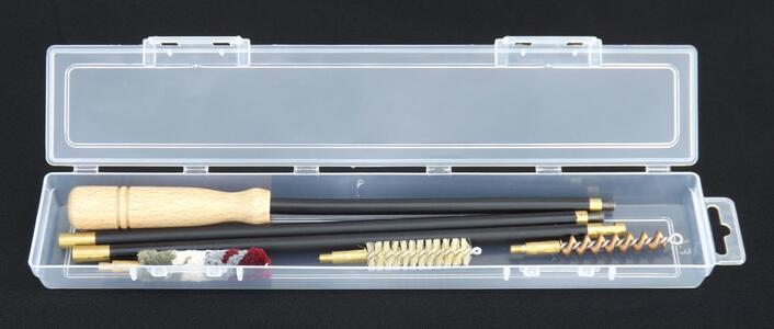 kit pulizia fucile cal.36/410 in astuccio trasparente