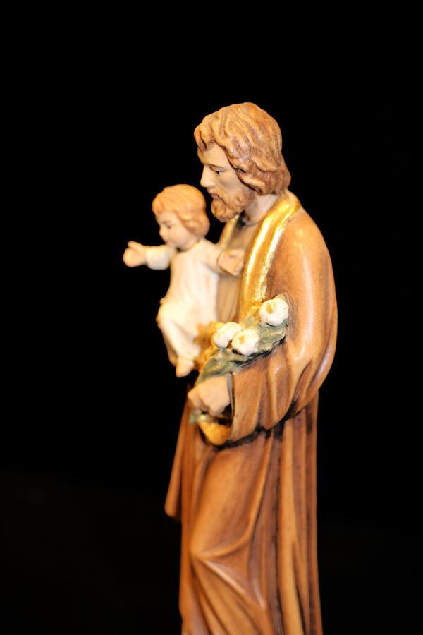 San Giuseppe in Acero 15cm