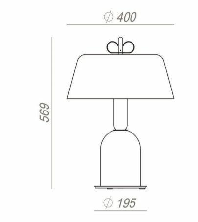 Lume Bon Ton Ø 40 cm in Alluminio Verniciato e Legno Rovere de Il Fanale, Varie Finiture - Offerta di Mondo Luce 24
