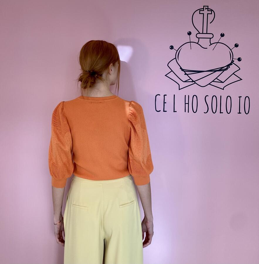 Maglioncino arancio