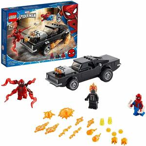 Spider-Man e Ghost Rider vs. Carnage - Lego Spiderman 76173 - 7+