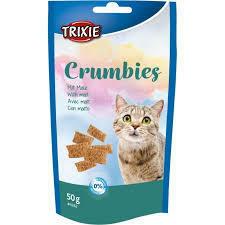 Trixie Crumbies 50g Snack Per Gatti Con Malto Senza Zuccheri