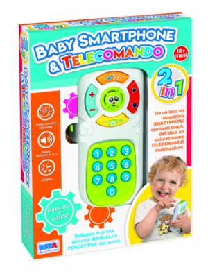 BABY SMARTPHONE E TELECOMANDO RONCHI SUPERTOYS