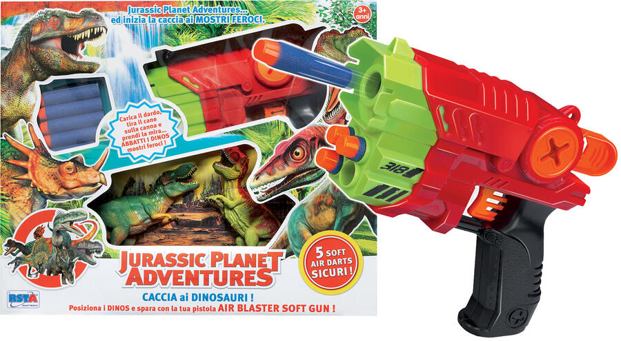 JURASSIC PLANET ADVENTURES PISTOLA DA CACCIA GROSSA RONCHI SUPERTOYS
