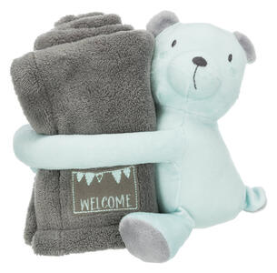 Trixie Junior Set coccoloso - Menta/Grigio