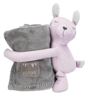 Trixie Junior Set coccoloso - Lilla/Grigio