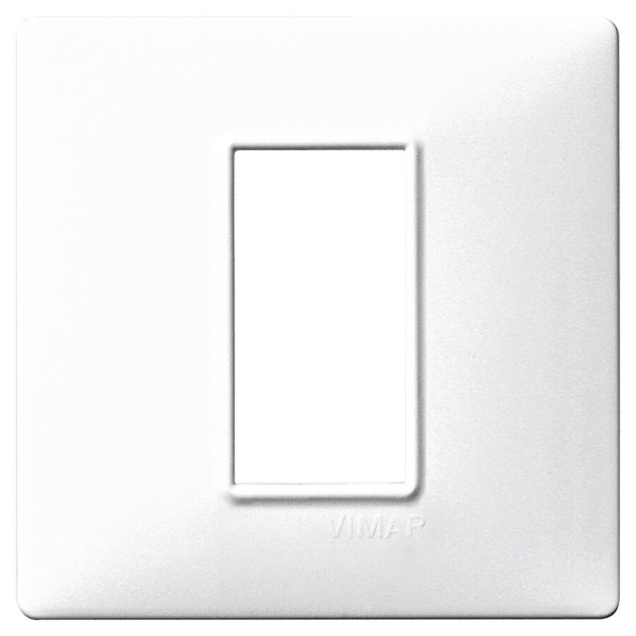 14641.01 PLACCA 1 MODULO BIANCO