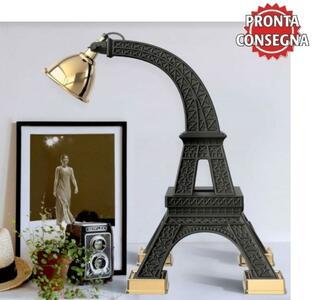 Lampada da Tavolo/Terra Paris di Qeeboo in Polietilene e Metallo, Varie Finiture - Offerta di Mondo Luce 24